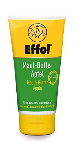 Effol Maul Butter | Maulbutter Effol 150 ml für ein entspanntes Reiten mit Apfelgeschmack steigert die Gebiss Akzeptanz