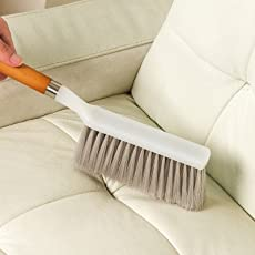 HOKIPO Long Bristle Carpet Upholstery Cleaning Brush for Home Car Carpets, Sofas, Curtains, Upholstery. (Random Colors)