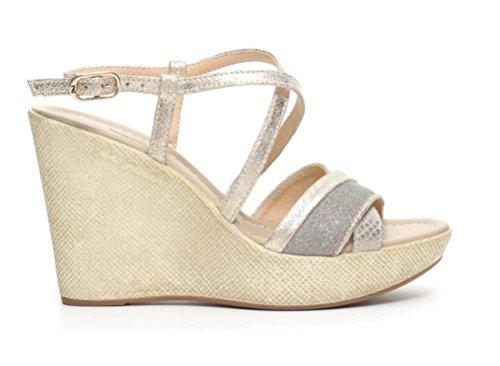 nero-giardini-sandalias-de-vestir-de-piel-para-mujer-dorado-size-38