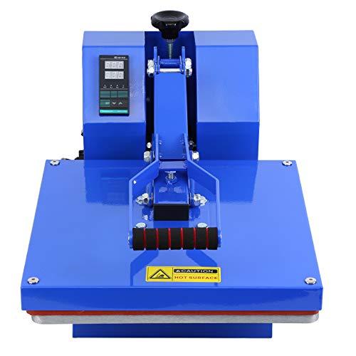 TryESeller Prensa de calor Máquina de transferencia Máquina de sublimación de camiseta Casa de molusco 38 * 38cm