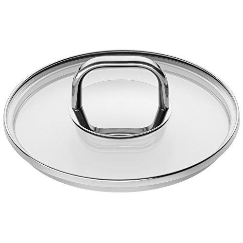 WMF Tapa de Cristal Inspiration Diámetro 16cm Metal Mango Apto para lavavajillas NR 1736176380