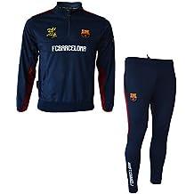 4597f3f3906 Fc Barcelone Survêtement Training fit Barca - Collection Officielle Taille  Enfant garçon
