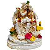 FABZONE Antique Finish Lord Radha Krishna Love Couple Statue / Sculputer Handicraft Idol for Temple / Home / Office