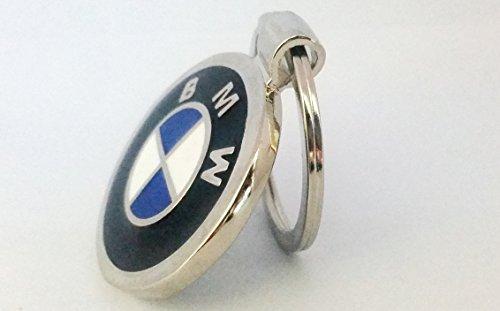 Valentinstag Bmw (BMW Beemer Car Logo Metall Schlüsselanhänger Ring Schlüsselanhänger mit Geschenk Beutel [s1ds])