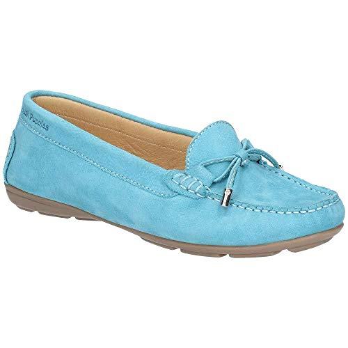 Hush Puppies Womens Maggie Toggle Slip On Flat Casual Shoes -