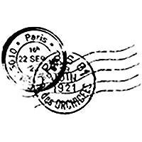 Artemio Cachet Postal Tampon, Bois, Noir, 4,5 x 2,5 x 5,6 cm ARTHE458