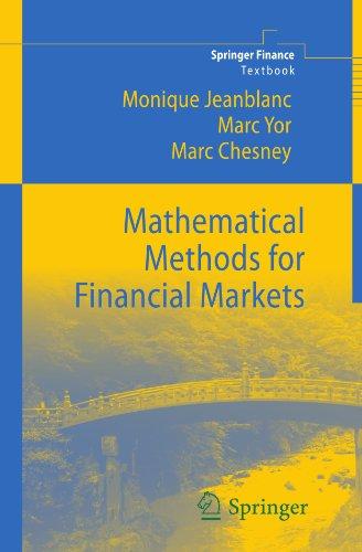 Mathematical Methods for Financial Markets (Springer Finance)