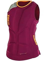 Jobe Mujer – DRY Plus Comp – Chaleco de calor), color rojo