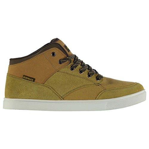 airwalk-breaker-mid-top-skate-scarpe-da-uomo-di-grano-ginnastica-calzature-wheat-uk11-eu45