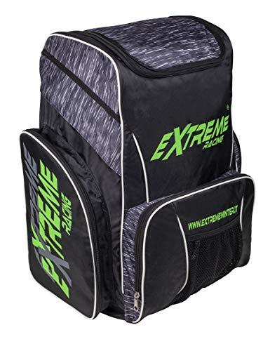 Extreme Winter Equipment 1087, Zaino da Sci Portascarponi Unisex - Adulto, VAR. Melange Nero, 60x34x50