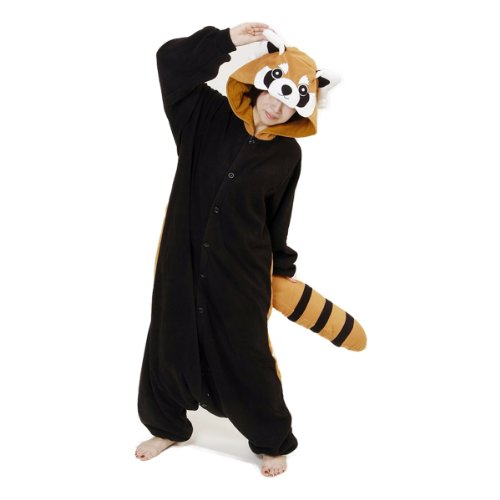 Kigurumi Roter Panda 2529 (Red Panda Kostüm)