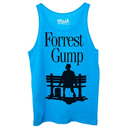 Canotta FORREST GUMP LOVERS - FILM by Mush Dress Your Style Blu Royal