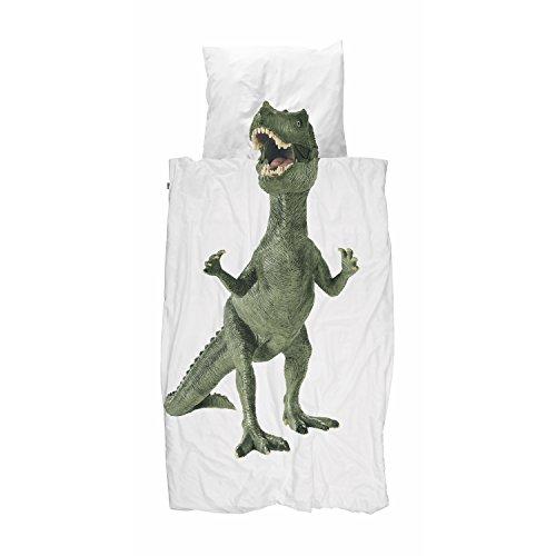 Kinder Bettwäsche Dinosaurier T-Rex von Snurk 135 x 200 cm