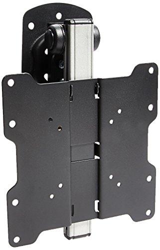 LCD Dreh-, schwenk- und klappbare Unterschrank- und Deckenhalterung für 17-19-22-24-26-29-32-37 Zoll-LCD-Fernseher, schwarz – VESA-Abmessungen bis zu 200x200