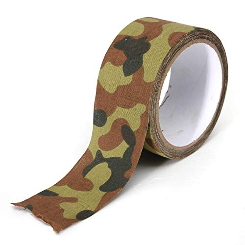 ChaRLes 10M Camouflage Wrap Tape Camo Tape Duct Wasserdicht Mutifunctional Stoff Camping Stealth Tape - #02 -
