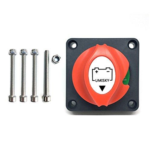 WIWIR interruttore stacca batteria 12 V-48 V 200A manopola chiave rimovibile/potenza della batteria Cut off