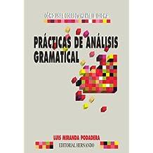 Practicas De Analisis Gramatical
