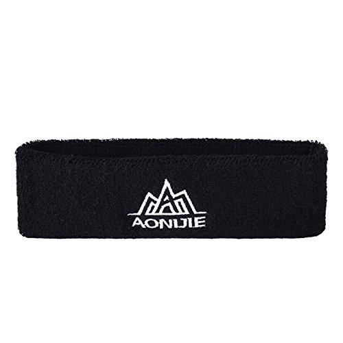 Übung Wraps (Zantec Frauen Männer Sport Stil Criss Cross Head Wrap Haarband für Fitness, Sport, Laufen, Yoga Übung Rose Red)