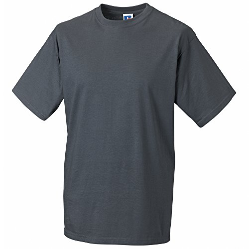 Russell Super ringspun classic t-shirt Convoy Grey