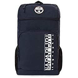 Napapijri HAPPY BACK PACK Mochila tipo casual, 42 cm, 20 liters, Azul (Blu Marine)