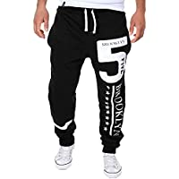 Geili Sporthose Herren Lang Modern Gedruckt Freizeithose Bequem Loose Fit Trainingshose Jogginghose Jogger Hose... preisvergleich bei billige-tabletten.eu