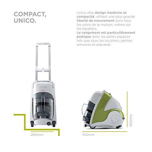 POLTI PBEU0080 Multizyklon Nass und Trockenstaubsauger mit Integriertem Dampfreiniger - 6