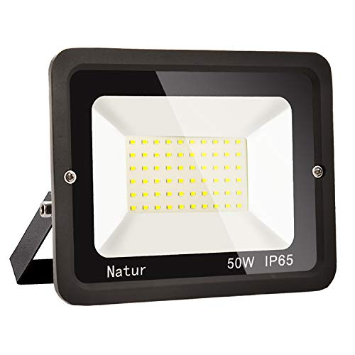 50W LED Foco exterior alto brillo Proyector led exterior de impermeable IP65,Blanco...