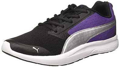 Puma Women's Breakout Wn s IDP Black-Prism Viole Sneakers-5 UK (38 EU) (6 US) (37298401)