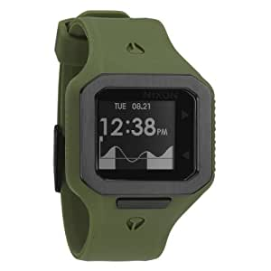 Nixon Herren-Armbanduhr The Supertide Surplus Digital Quarz Silikon A3161085-00