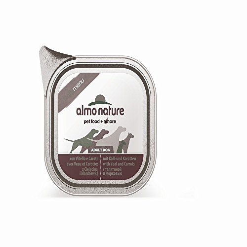 ALMO NATURE Daily menu bio vitello e carote umido cane gr. 100