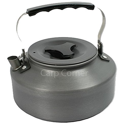 41HLmuwhhtL. SS500  - Carp Fishing Kettle Folding Handle 1.1 Litre Ideal For Camping Hiking Travel Comes With Case
