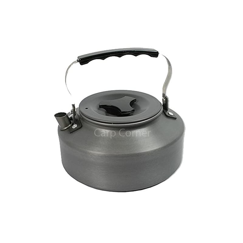 Carp Fishing Kettle Folding Handle 1.1 Litre Ideal For Camping Hiking Travel Comes With Case