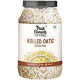 True Elements Rolled Oats, Gluten Free Oats, High in Fibre and Protein, 1.2kg