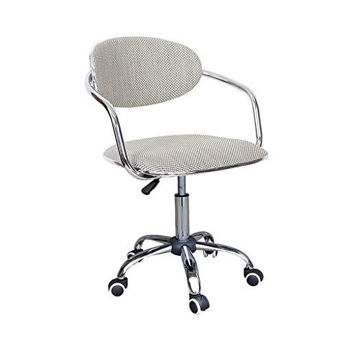 Silla de la computadora del hogar, silla de la oficina del estudio de la caja registradora del escritorio de la caja registradora de la recepción del asiento de la silla de la barra del respaldo de la