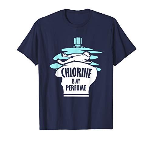Schwimmer T Shirt Chlor ist mein Parfum für Schwimmtrainer (Parfum Für Frauen-coach)