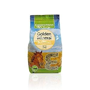 Eggersmann Golden Mineral – Mineralfuttermittel für Pferde und Ponys – Zur Ergänzung des Grundfutters