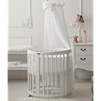 ComfortBaby ® SmartGrow 7in1 Multifunktionales Baby- und Kinderbett Weiss