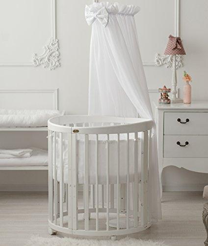 ComfortBaby SmartGrow 7en 1multifonction Lit de Bébé et d'enfant Blanc