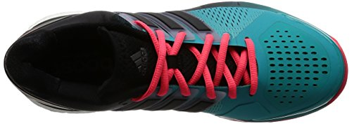 adidas Energy Boost, Chaussures de Tennis Mixte Adulte Vert / Noir / Rouge (Verimp / Negbas / Rojimp)