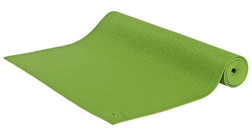 Sukha Yogamatte Asana Sticky, 183 x 60 x 0, 4 cm Material: PVC Maschinenwaschbar bis 30º C, grün