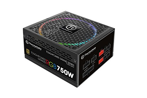 Thermaltake Toughpower Grand/fully Modular/750w/atx 2. 4 &eps 2. 92/a-pfc/14cm Rgb Fan/eu/80plus Gold