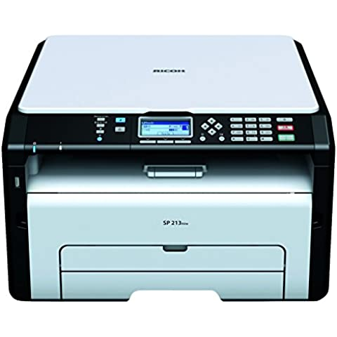 Ricoh Aficio SP 213SUW - Impresora multifunción láser (mono, 22 ppm, 1200 x 600 DPI, PCL 6)