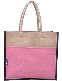 Promise Bags Eco Friendly Multipurpose Multicolor Reusable Jute Bag