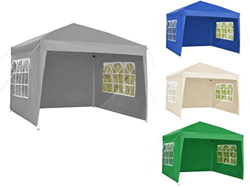 3x3m-faltpavillon-gartenpavillon-party-bier-pavillion-zelt-blau-rot-beige-schwarz-2195-farbeblau