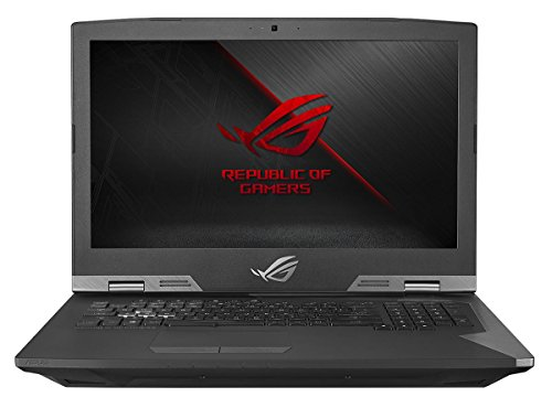 Asus ROG G703VI-E5089T (17,3 Zoll mattes FHD) Gaming-Notebook (Intel Core i7-7820HK, 32GB RAM, 1024GB SSD, 1TB Fire CudaHDD, NVIDIA GeForce GTX1080, Win 10 Home) schwarz