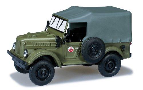 Preisvergleich Produktbild Herpa 700580 - GAZ 69 Militär Kraftfahrzeug - CA