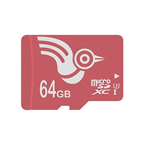 ADROITLARK scheda micro sd 64 gb Classe 10 UHS-I Scheda di memoria SD per 4K Video / telefoni / laptop / Tablet 10 anni di garanzia (U3 64GB)