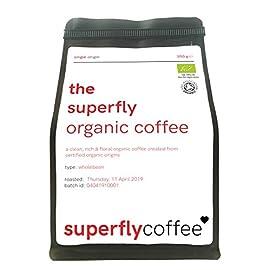 The SUPERFLY Organic Bulletproof Coffee   Single Origin Arabica   Organic Guatemalan Coffee 41HLsGG 2B1GL