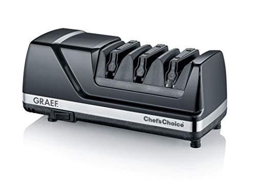 Graef CX125DE Messerschärfer, 75, schwarz