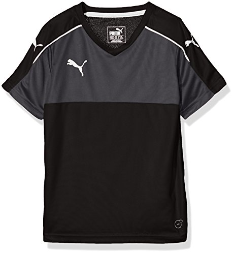 PUMA Herren Accuracy Shortsleeved Shirt, black-white, 3XL, 702214 03